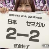 『サッカー日本代表 セネガル戦 2対2で試合終了!!!』の画像