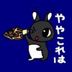 【黒いうさぎのれおんくん∂⍵∂】