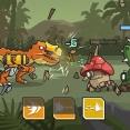 恐竜のロボット退治ゲーム CyberDino: T-Rex vs Robots
