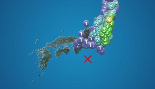 震源は三重県沖なのに東北関東だけが大きく揺れる地震が深夜に発生(目が覚めた外国人の反応)