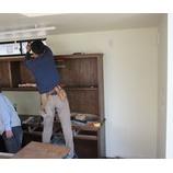 『食器棚・納品』の画像