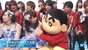 【Mステ】しんちゃんがゆきりんと握手ww