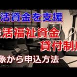 『チャンネル名/Level 0 チャンネル:「生活資金を支援する 「生活福祉資金貸付制度」 をご存知ですか?(2019/01/19公開)」をみて』の画像