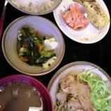 『今日のあべQ(豚肉のカレー粉炒め)』の画像