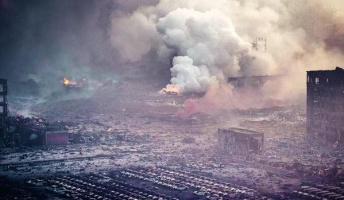 【画像】 CGじゃない、映画じゃない、今日の天津です【中国・天津の工場爆発事故】