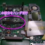 『東芝リブレットL2 PCカードのハンダ付け』の画像