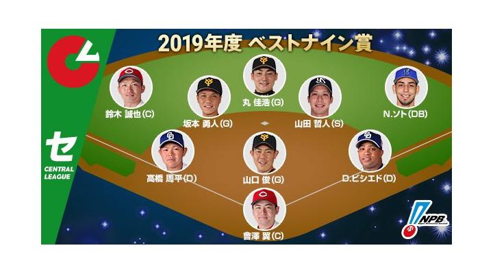 セリーグ・ベストナイン発表! 投手は山口俊、捕手は曾澤!坂本・丸も受賞!
