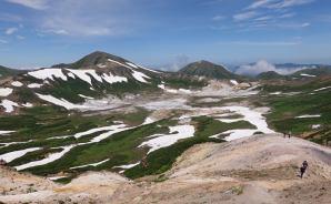 ツアーに参加し、大雪山の旭岳へ