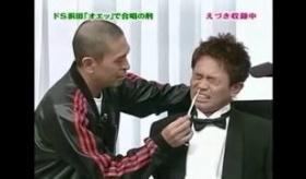 【テレビ】   ガキの使い  浜田 の「オェッ!」っという声で   カエルの歌を作る罰ゲーム    海外の反応