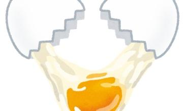 【すごすぎ】卵割ったらまた卵が出てきた画像