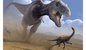 【悲報】ティラノサウルスさん、ただのデカい雀だった…