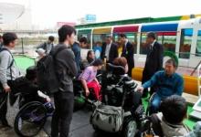 水上バス「クルーズ名古屋」の記念式典に車椅子の利用者が集団で現れ抗議(画像あり)