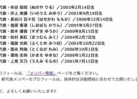 チーム8新メンバー10名お披露目&プロフィール公開!
