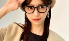 【画像】黒縁メガネをした西野七瀬が驚くほど可愛い!