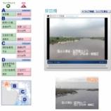 『戸田市笹目橋付近の荒川の様子をライブ映像でチェックできます』の画像