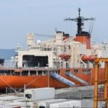 『砕氷艦「しらせ」@博多港』の画像