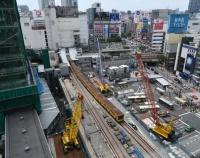 『渋谷駅のさらなる変貌』の画像