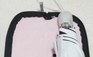 100均の折り畳み傘カバーが便利