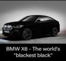 【画像】BMWさん、世界一黒いSUVを販売してしまう