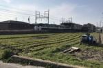 京阪河内森駅のホームから見える景色が綺麗なので実際に行ってみた! 本物の田舎景色!