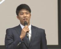 【阪神】神戸市の特別支援学校へ 阪神・才木投手がスポーツ用品贈呈/兵庫県