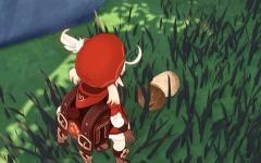 【原神】クレーちゃん、大きいマツタケを発見