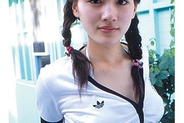 綾瀬はるかのおさげ髪で爆乳がエロすぎ