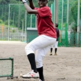 『ブルキナファソから独立リーグ入団テストを受けに来たラシィナ君、不合格』の画像