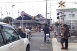 京阪電車交野線で何かあったみたい~交野市駅近くの踏切ブザー鳴りっぱなし【遅延はないみたい】~