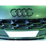 『Audi 4Rings グロスブラックエンブレム人気です!』の画像