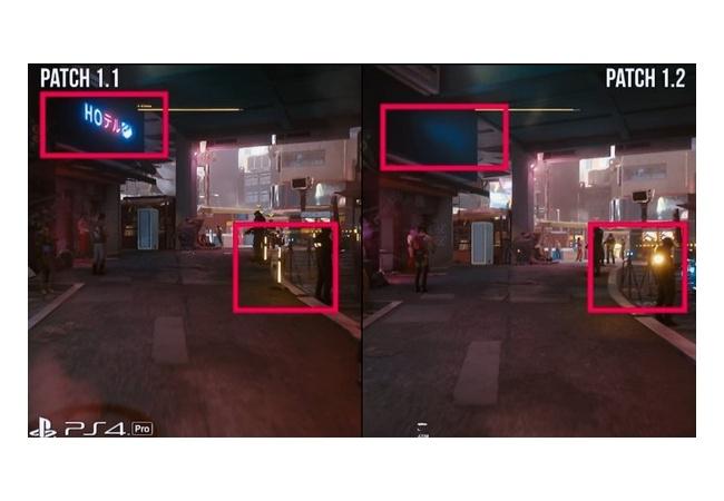 【悲報】PS4版サイバーパンク2077、バージョン1.2で色々なものが削除されてしまう