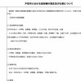 『戸田市における放射線の測定及び公表について(戸田市発表)』の画像