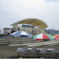 2013年湘南江の島 海の女王&海の王子コンテスト その2(開会前の司会者)