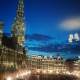『グランプラスの夜景』の画像