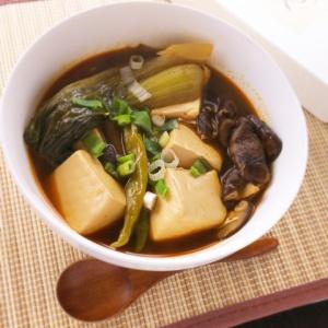 体の芯までポッカポカ♪豆腐のあったかスープ