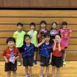 『◇仙台卓球センタークラブ◇ 福島県ホープス強化卓球大会 結果』の画像
