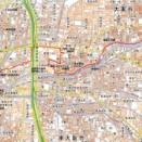 東大阪市、JR徳庵駅から枝切・古堤街道_諸福中_水準点(二ヶ所)、三角点探訪(274)