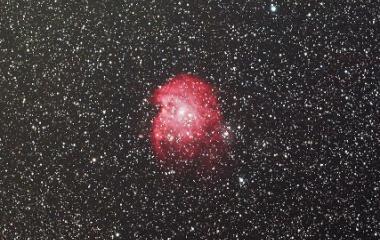 『沈みゆくモンキー星雲』の画像
