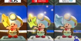 『キノピオ隊長』、3DS版/Switch版/Wii U版のグラフィック比較映像が公開!