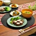 【ピリ辛ゴマ担々スープ】と【牛肉のカリカリ大根巻き】の昨日の晩ごはん