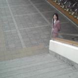 『さいとう直子さんが駅立ちされていました』の画像