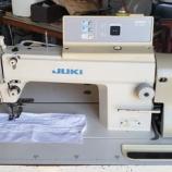 『【岐阜県各務原市のお客様に追加で防護服を作る為に使う、JUKI製DDL-5570N(本縫い自動糸切りミシン)の中古をお買い上げいただきました!】』の画像