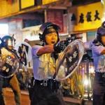 【動画】香港デモ、ついに香港警察が…!? 実弾を装填した回転式拳銃を発砲! [海外]