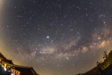 冬期通行止めが解除された大台ヶ原で天体観測【2017】