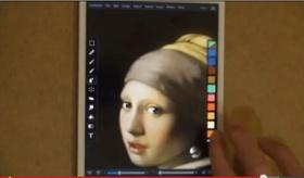 【芸術】    日本人が ipod/iphoneで 指だけで描いた 絵画が 素晴らしい。   海外の反応