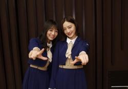 【乃木坂46】中田花奈&北野日奈子、満面の笑みの2ショットwwwww