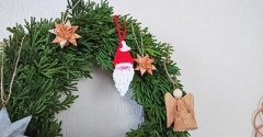 今年のクリスマスはフェイクリースに飾りつけ&スーパーセール☆彡