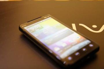 HTC EVO WiMAXでスマホデビュー