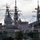 自衛艦艇の満艦飾 2012