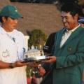 松山英樹さんおめでとう!努力のたまものだね。